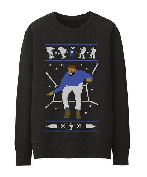 DRAKE UGLY CHRISTMAS SWEATER Hotline Bling Sweatshirt