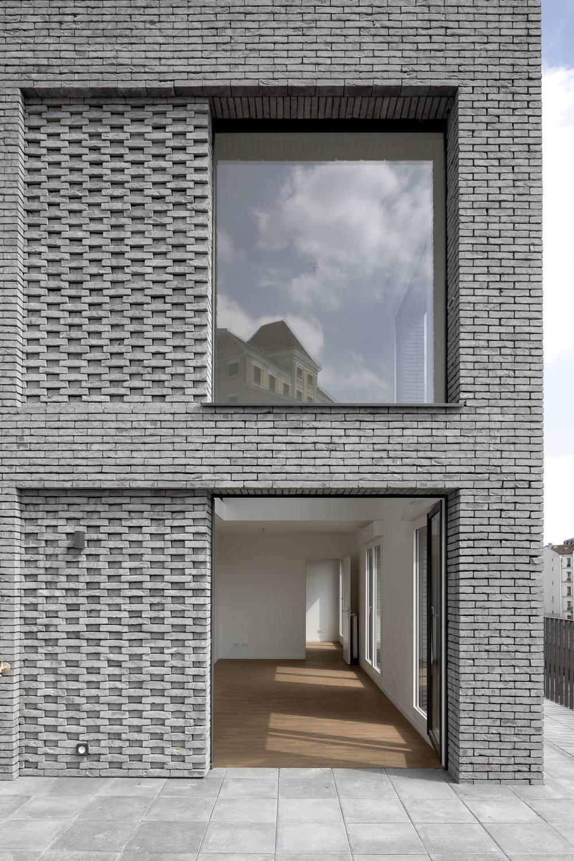 Burgen aus Backstein bei Paris – Sozialer Wohnungsbau von Avenier Cornejo