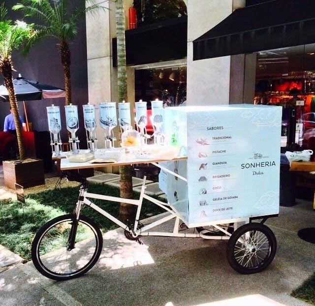 Dream Bike Com Imagens Carrinho Que Vende Doces Food Trucks
