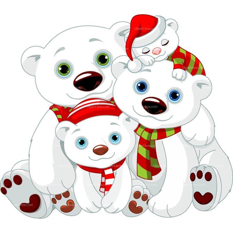 christmas bears - Google Search | Stickmuster | Pinterest