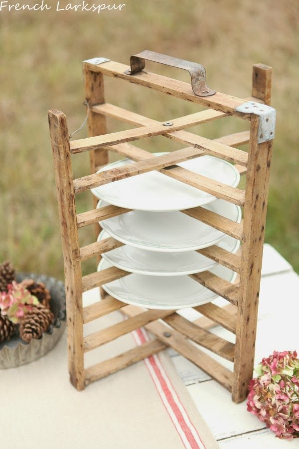 Rustic plate holder : rustic plate rack - pezcame.com