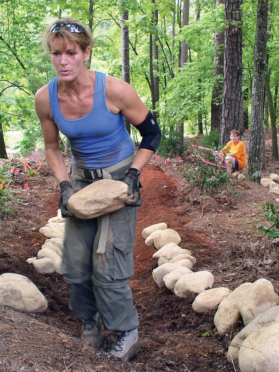 A Weekend Project How To Create A Dry Creek Bed In A