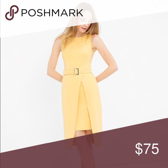 White House Black Market Yellow Dress Nwt My Posh Closet