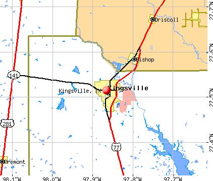 Map Of Texas Kingsville.Kingsville Tx Map Kingsville Kingsville Texas King Ranch Map