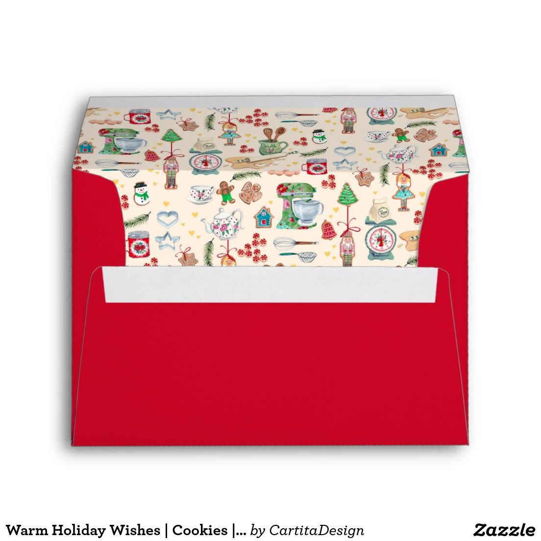 Warm Holiday Wishes | Cookies | Envelope
