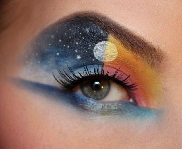 Fascinating Eye Makeup by Sandra Holmbom