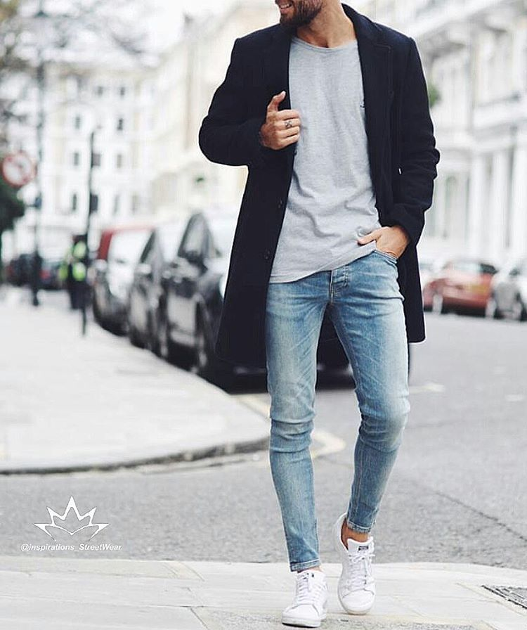 White skinny jeans instagram