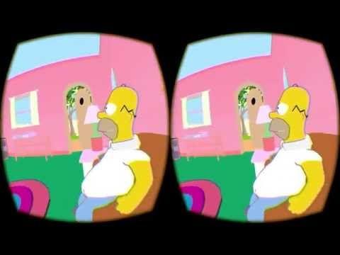 Le gag du canapé des Simpson devient réalité grâce à Oculus Rift | 365blog