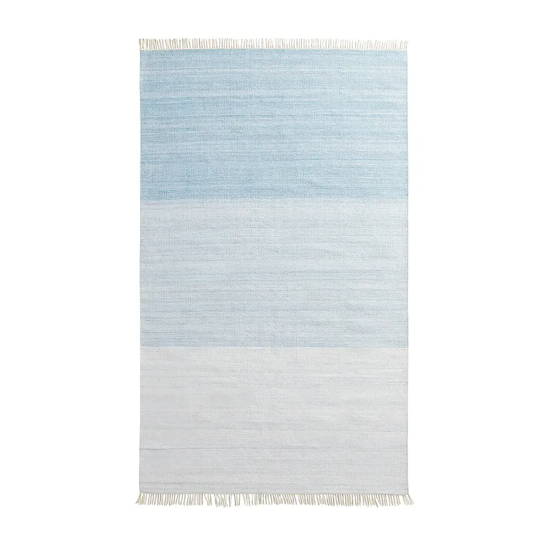 In Out Ombre Blue 5x8 Rug Blue Rug Rugs Blue Ombre