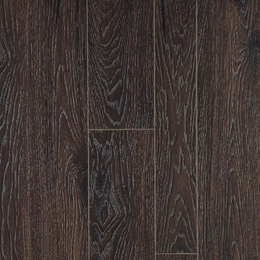 Supreme Click Earthen Hickory Random Width Length 12mm Laminate Flooring