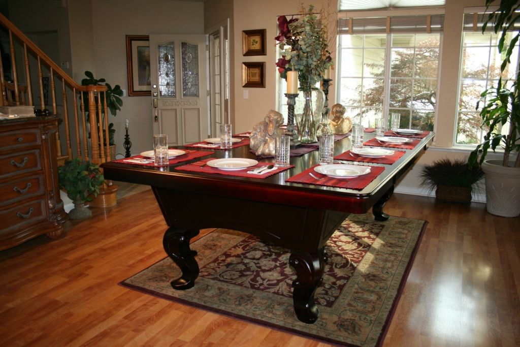 Create Pool Tables Dining Room Table Plans: Converting Your Generation Pool  Table Into An Elegant Dining Table | Pool Table/Dining Table | Pinterest |  Pool ...