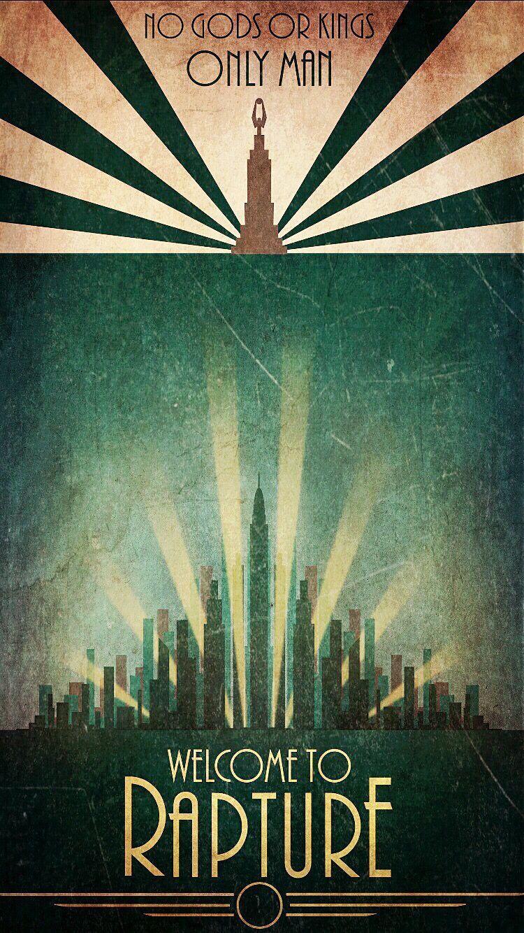 Bioshock Phone Wallpaper Bioshock Artwork Bioshock Art Bioshock Rapture