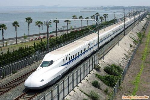 Trem Bala Japonês