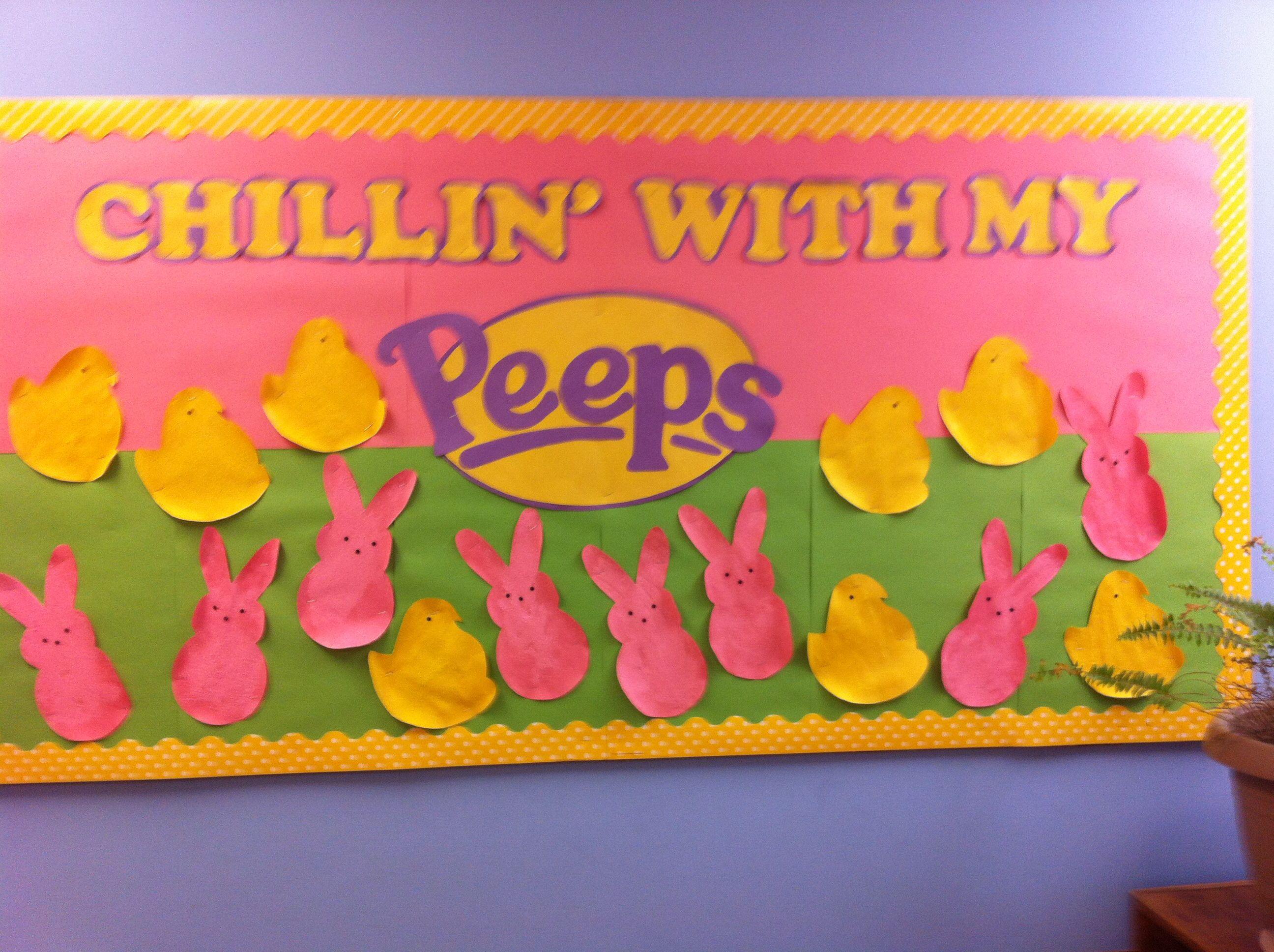 easter bulletin boards for preschool easter bulletin board peeps board pre k 5th grade 503