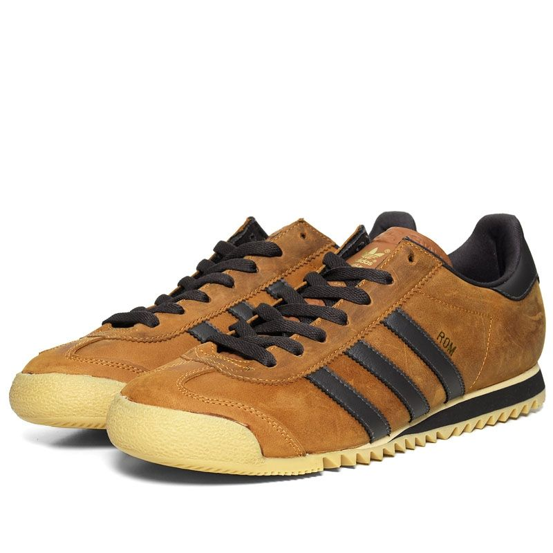ba3fd55a9026 Adidas Rom (Umber   Dark Brown)