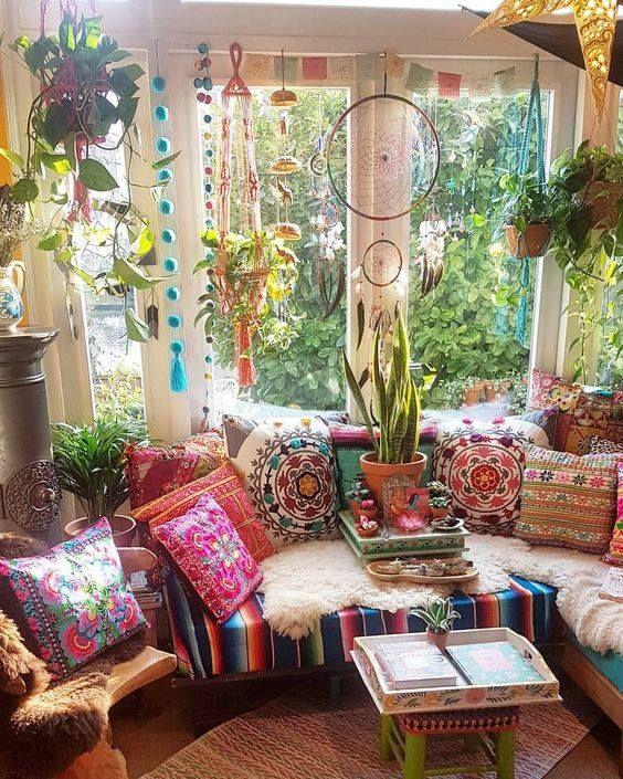 Boho Hippie Bedroom: Pin De Lourdes Machargo En Bohemian, Hippie Chic