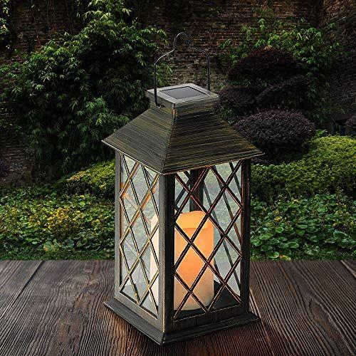 Tomshine Lanterne Solaire LED Lampe solaire extérieure avec ...