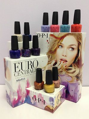 OPI EURO CENTRALE COLLECTION 12 COLORS SPRING 2013