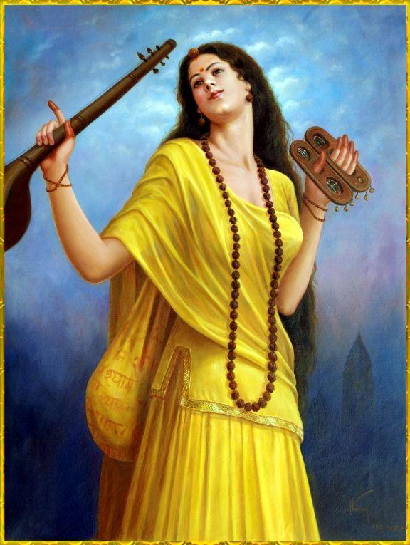 Meera Bai 1498 1557 Lord Krishna Images Krishna Art Art