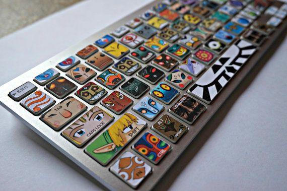 Legend of Zelda: Villains keyboard decal sticker s