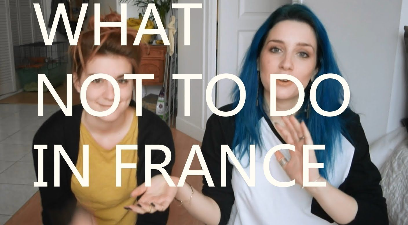What not to do in france in french with subtitles french what not to do in france in french with subtitles kristyandbryce Choice Image