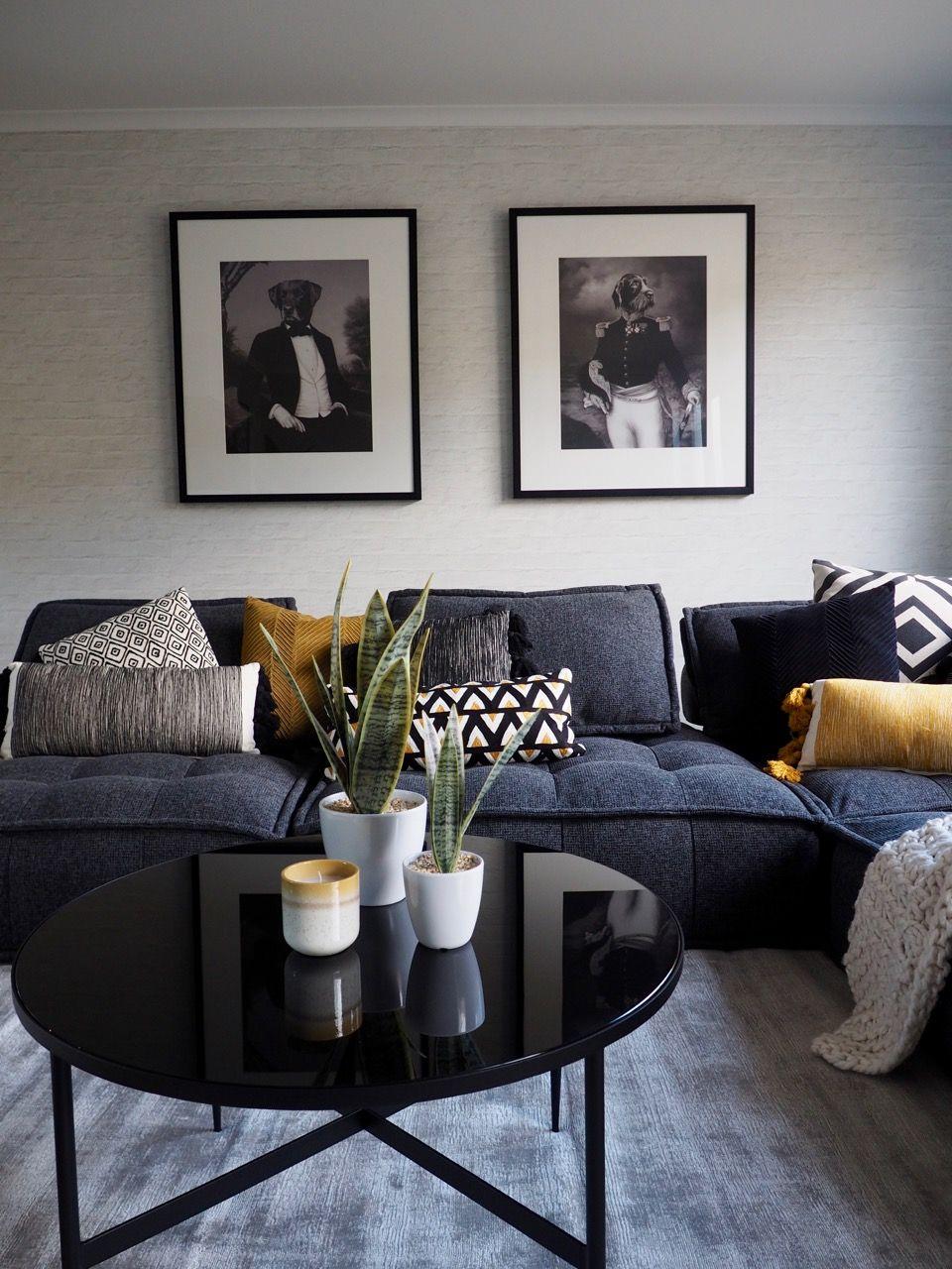 Lounge Room Reveal Grey Sofa Living Room Charcoal Sofa Living Room Lounge Room