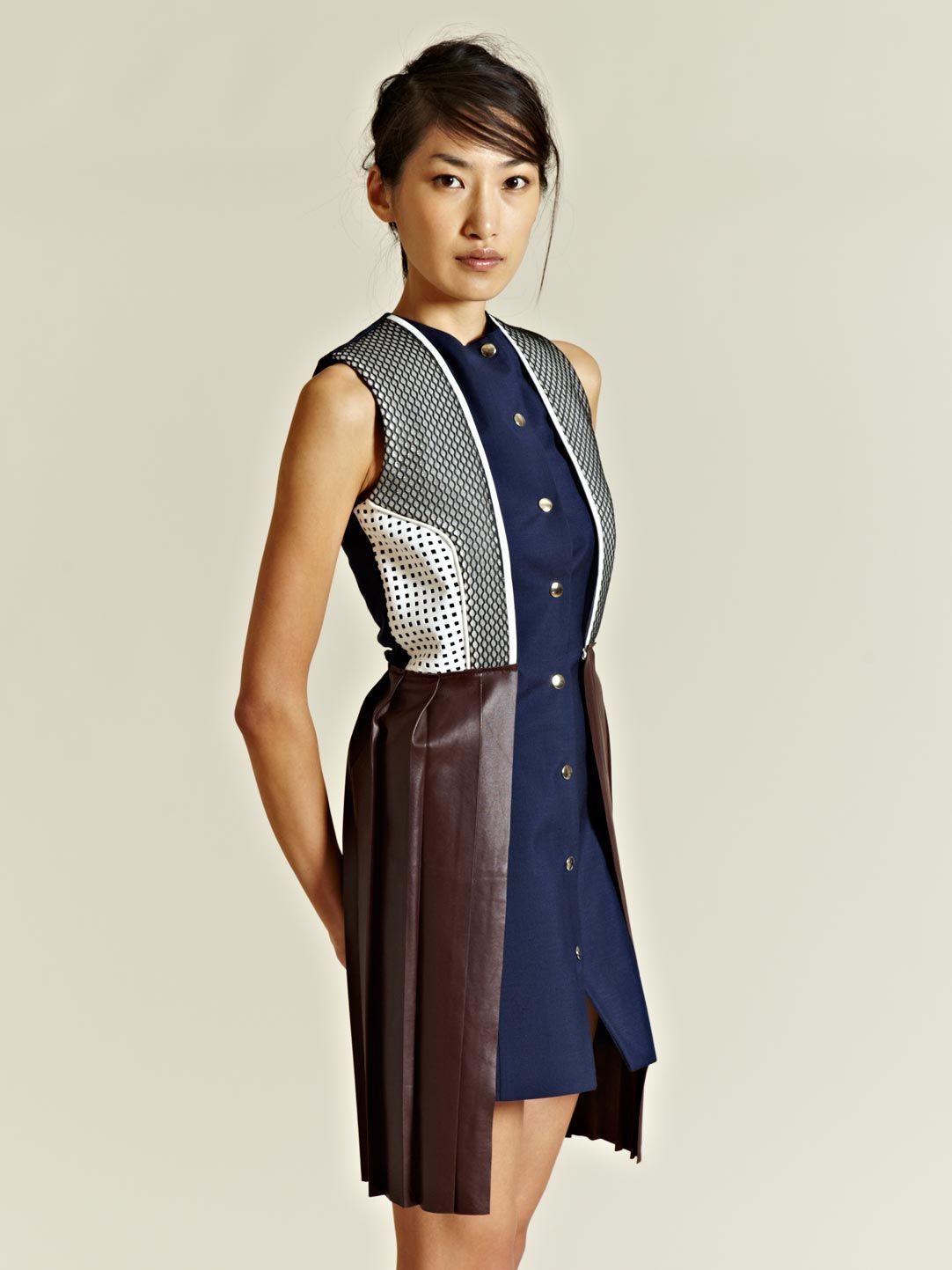 J.W. Anderson Women's Contrast Vest Dress