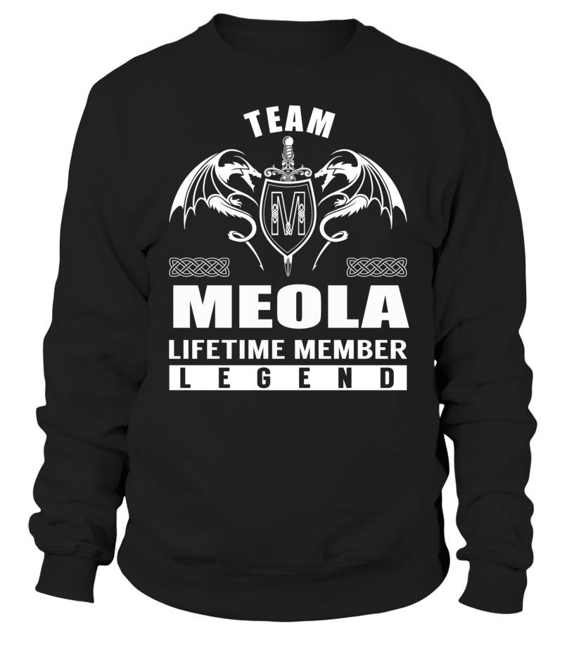 Team MEOLA Lifetime Member Legend #Meola