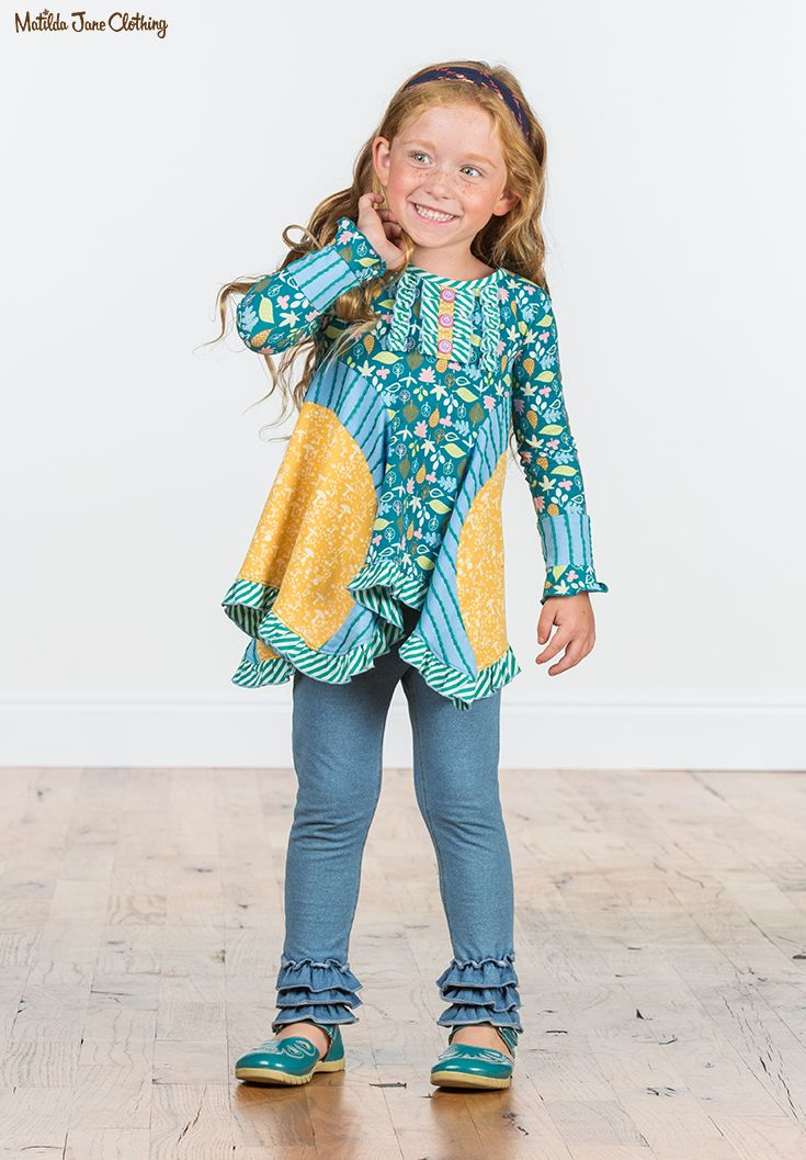 NEW Matilda Jane Hop Skip and Jump Jegging size 8