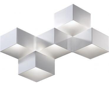Moderne Lampen 5 : Wandlamp escher 5 lichts world light design lampen van lil.nl