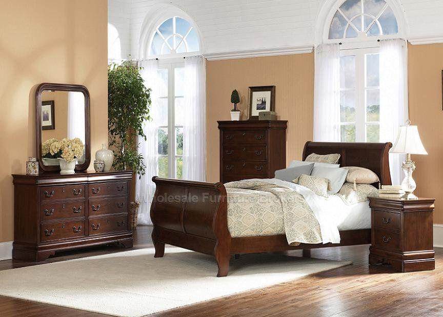 Chic Möbel Schlafzimmer Sets Schlitten Bett Schlafzimmer