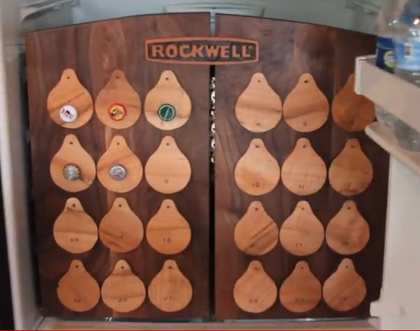 how to make a beer advent calendar