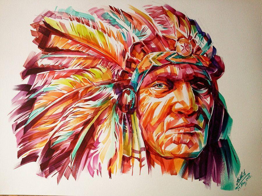 Black Foot Red Indian by him560 on deviantART AP 2D
