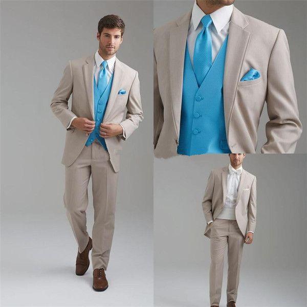 Khaki Wedding Tux: Khaki Prom Suit