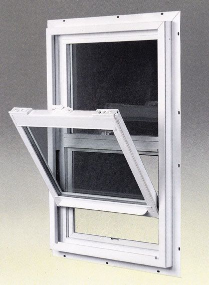 Single hung vinyl window windows pinterest vinyl for Replacement window sizes