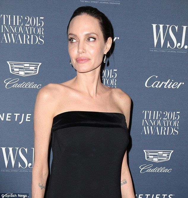 Not offended: In a recent interview with The New York Times, Angelina Jolie Pitt, pictured...