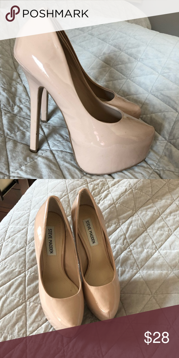 23f2b1310b9 Nude shoes Pretty much worn once