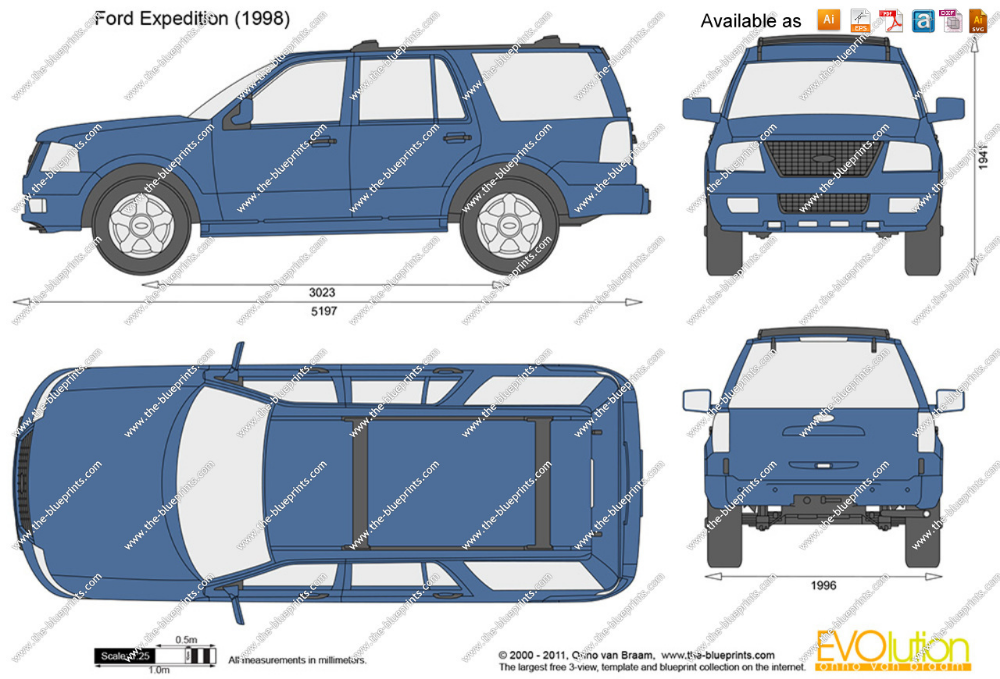 Ford Expedition Vector Drawing Ford Expedition Vector Drawing Vinyl Graphics