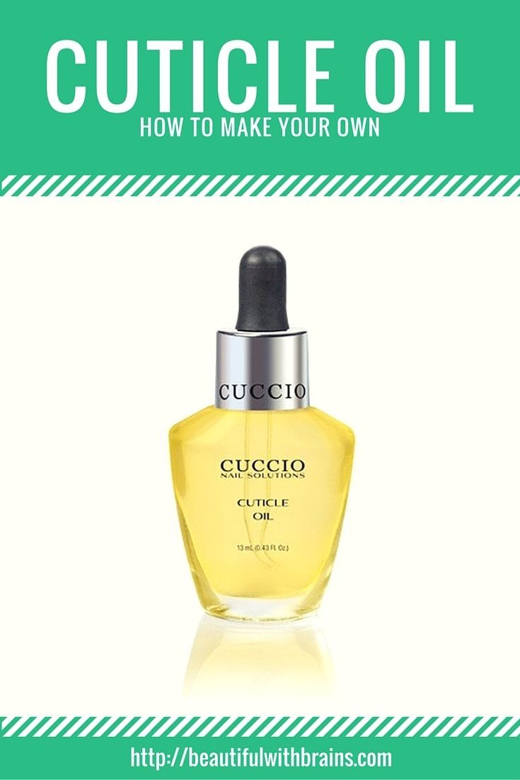 Cuticle oils are very moisturizing and keep your cuticles