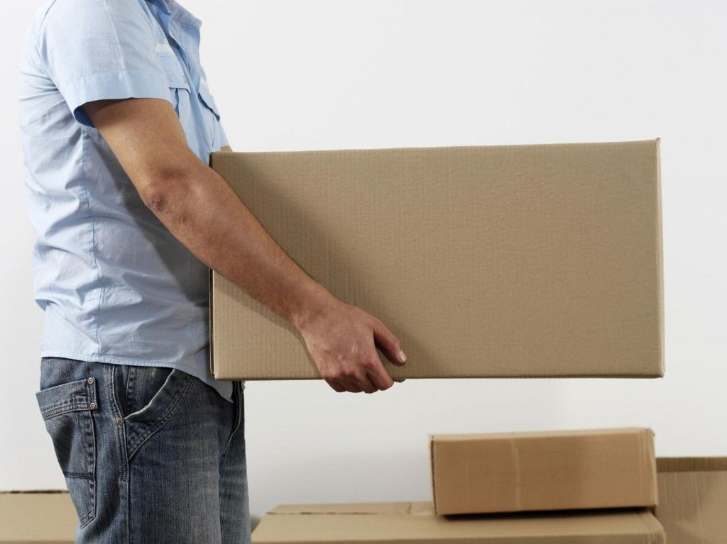Lifting Safety Tips! Whether you store your boxes in the garage, attic, or basement you don't want to end up with back pain.