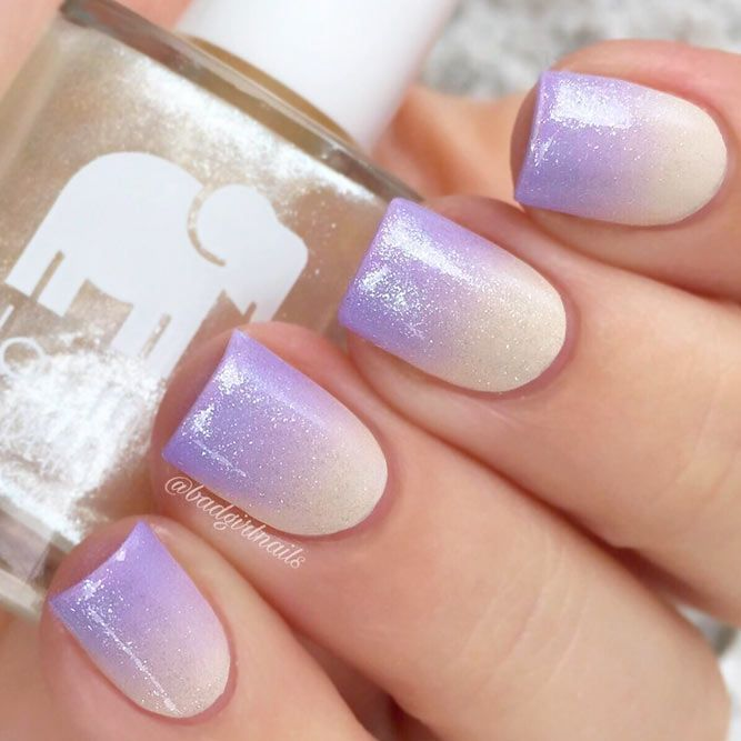 33 Examples Of Nail Designs For Short Nails To Inspire You Nail Shapes Ideas Ombre Nail