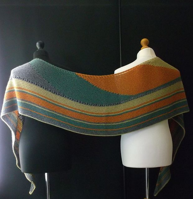 Ravelry: Cascade Shawl No.6 pattern by Brian smith