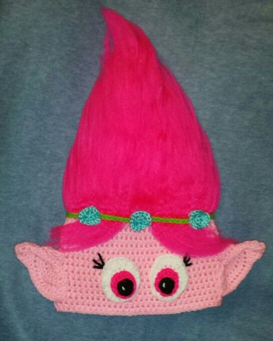 Crochet Pattern For Troll Hat : Crochet