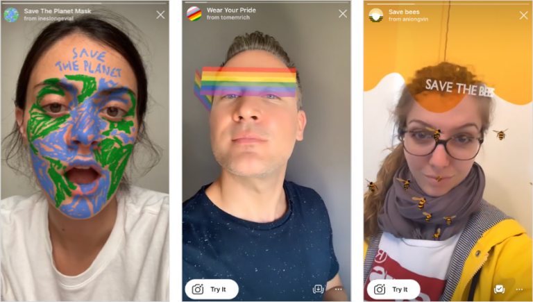 How To Create Instagram Stories Filters With Spark Ar Studio Instagram Story Filters Diy Face Diy Face Mask