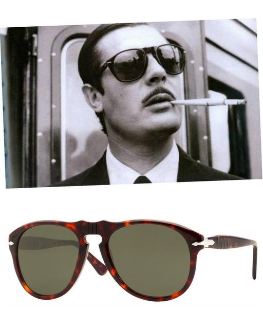 4685b2f77bd Marcello Mastroioanni -sunglasses Persol 649