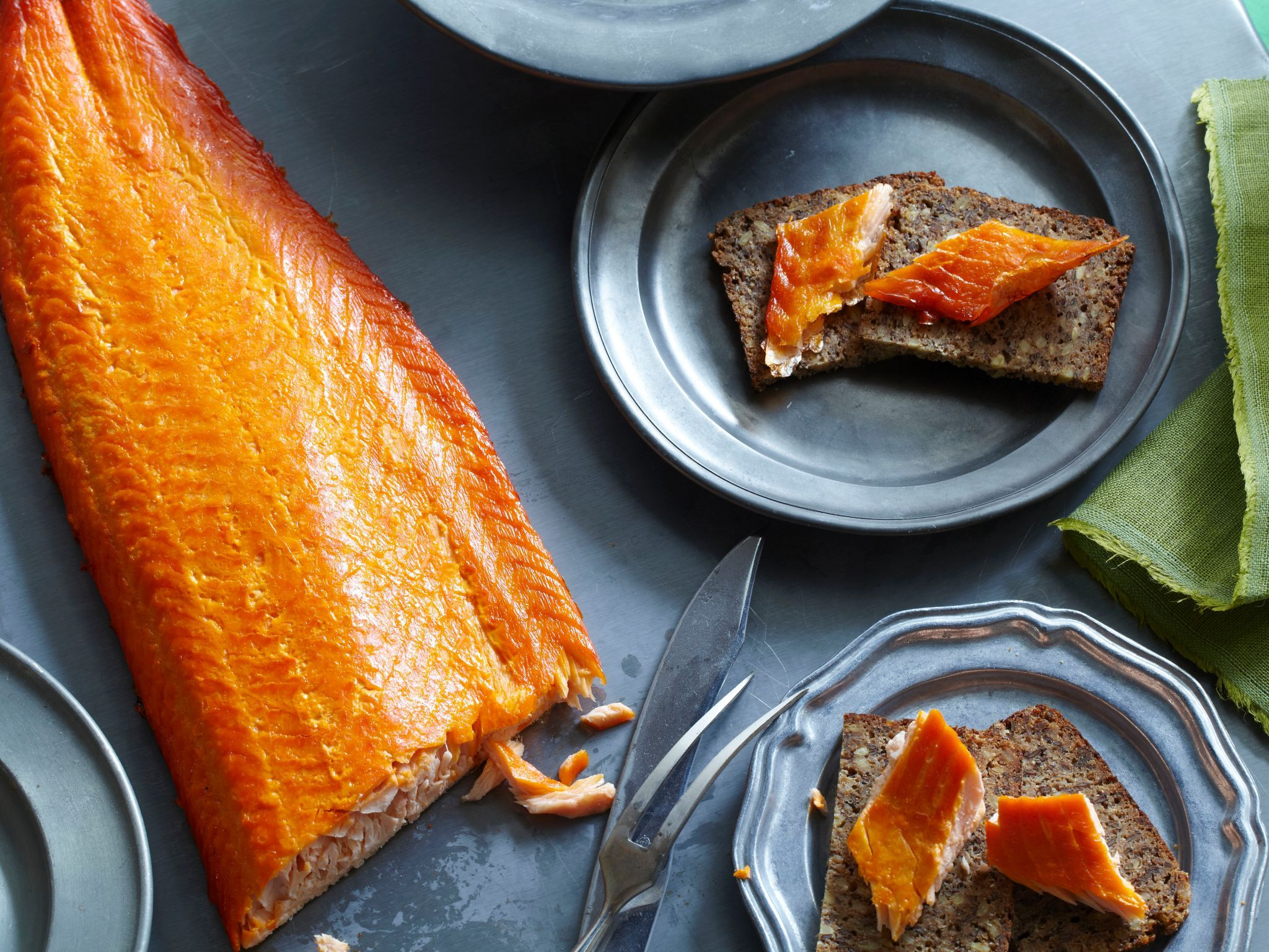 Smoked Salmon Recipe From Alton Brown Via Foodworkdon't Forget To Cut