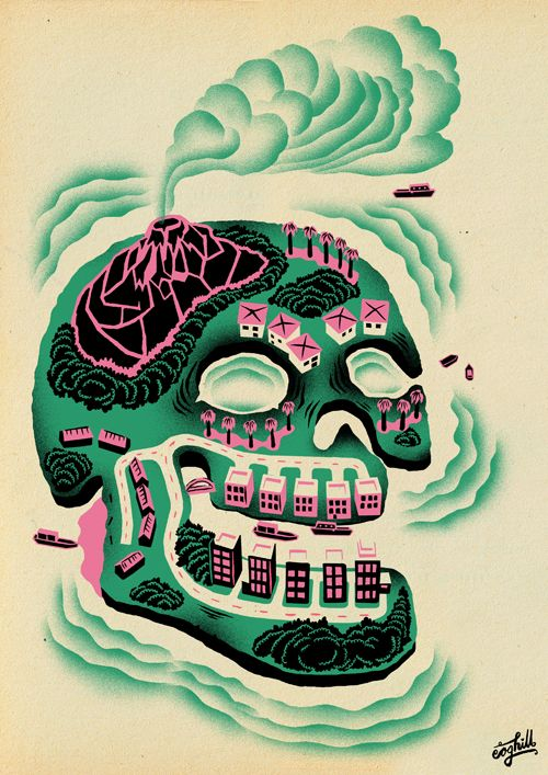 By Grant Coghill http://www.creativeboysclub.com/tags/we-love-skulls ...