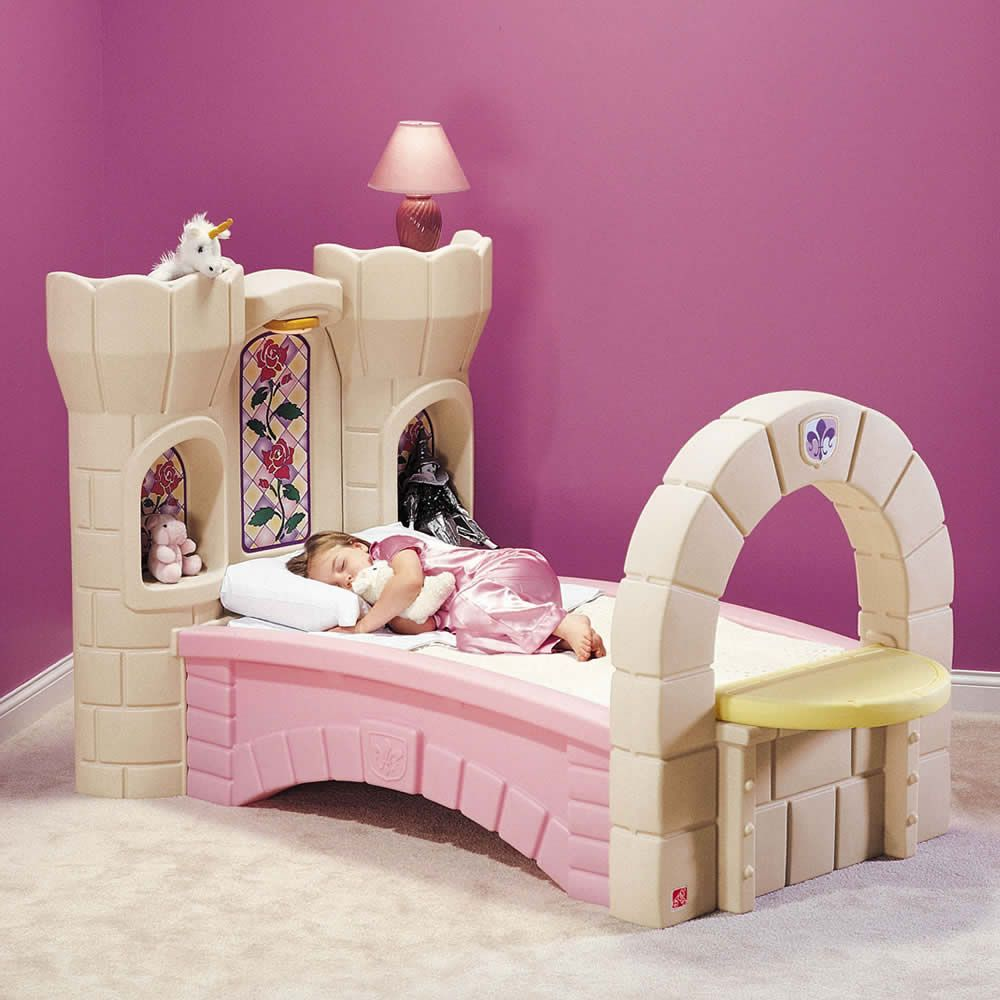 castle beds for girls | ... and Ratings - Kids Bed - Dream Castle