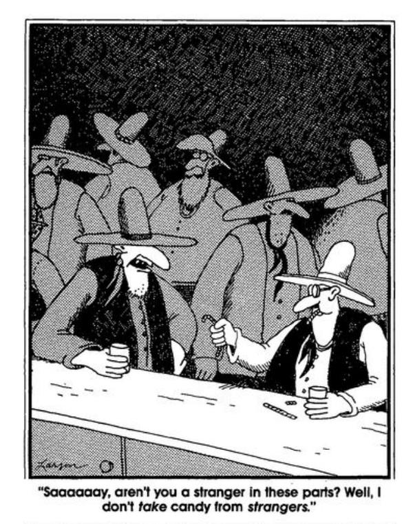 Halloween humor. The far side by Gary Larson