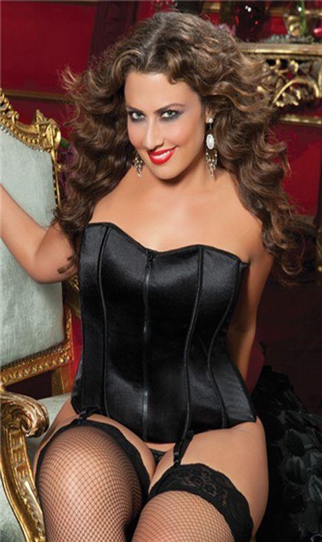 fa2c9845131 Perfectly Polished Corset Black. | Sexy Plus Size Corsets | Plus ...